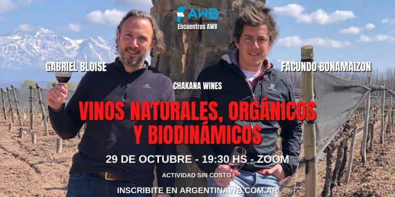 Vinos Naturales, Organicos y Biodinamicos